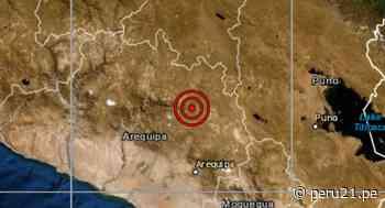 Arequipa: sismo de magnitud 3,4 se reportó en Chivay, señala IGP - Diario Perú21
