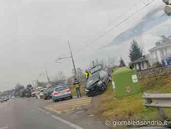 Incidente a Cosio Valtellino, due feriti - Giornale di Sondrio