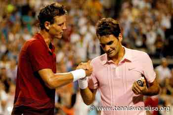 Tomas Berdych: 'I will never forget win vs Roger Federer at 2004 Olympics' - Tennis World USA