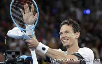 Tomas Berdych: the farewell of a magnificent loser - Tennis World USA