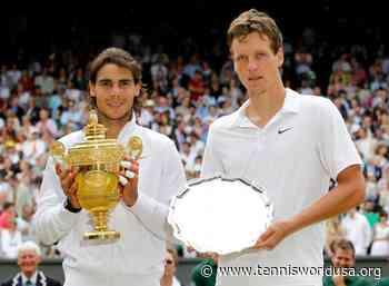 Tomas Berdych: I'd love to play again 2010 Wimbledon final - Tennis World USA