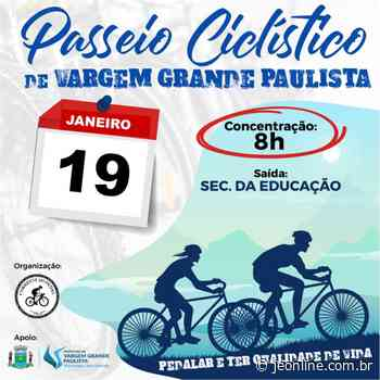 Passeio Ciclístico de Vargem Grande Paulista acontece dia 19 de janeiro - Jornal da Economia
