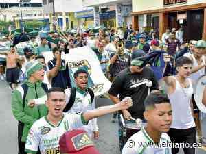 Hinchas de Liga de Portoviejo se organizan para viajar a Sangolquí y apoyar a su equipo - El Diario Ecuador