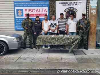 Caen cuatro presuntos extorsionistas en Roldanillo, Valle del Cauca - Diario del Cauca