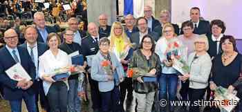 Verdiente Bürger stehen im Mittelpunkt beim Neujahrsempfang in Bad Friedrichshall - Heilbronner Stimme