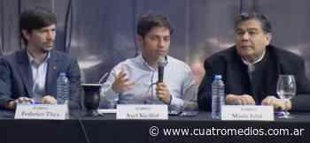 Axel Kicillof en Jose C. Paz celebró los 70 años de la Gratuidad Universitaria - Cuatro Medios