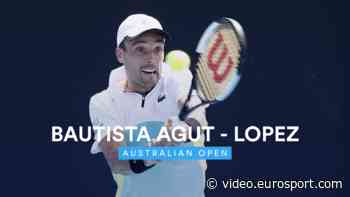 VIDEO - Australian Open 2020 highlights - Roberto Bautista Agut through in all-Spanish clash - Australian - Eurosport.com