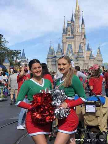 Spotswood High School Cheerleaders March Down Main Street USA In Disney World's Magic Kingdom - TAPinto.net
