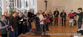 Adventskonzert der Sängerrunde Hochberg mit Gästen in Emmendingen - Emmendingen - Badische Zeitung
