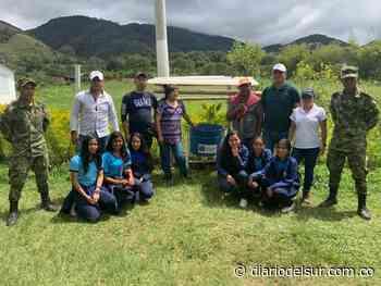 Militares adecuaron zonas verdes en Chachagüí - Diario del Sur