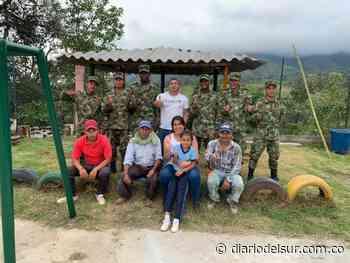 Construyeron dos kioscos y adecuaron juegos para estudiantes en Chachagüí - Diario del Sur