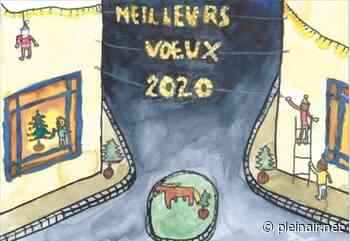 Maiche / Carte de vœux : La ville a choisi le dessin d'Oscar (9 ans) - Plein Air