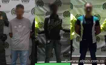 A la cárcel tres hombres capturados en Tuluá y Bugalagrande por porte ilegal de armas - El País – Cali