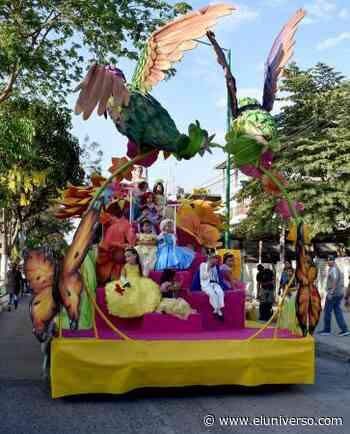 Desfile de fantasía alegró a Bahía de Caráquez - El Universo
