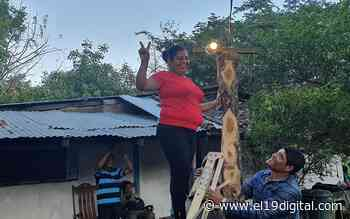(+ Fotos) Inauguran proyecto de electrificación en la comunidad de Majagual, San Juan del Sur - El 19 Digital