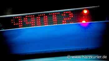 Unfall am Butterbergtunnel: Lkw streift Auto in Osterode - HarzKurier