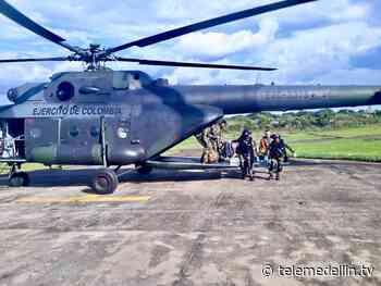 El Ejército Nacional rescató a dos menores heridos en Urrao - Telemedellín