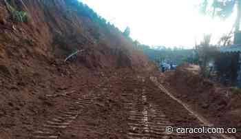 Nuevo derrumbe en Concordia, aplazó la reapertura total de la vía - Caracol Radio