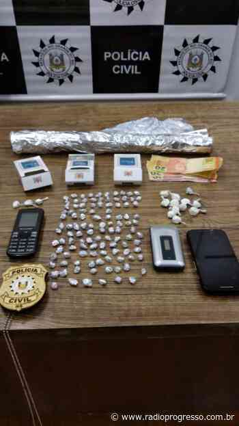 Homem é preso por tráfico de drogas em Cerro Largo - Rádio Progresso de Ijuí