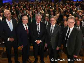 Konstanz: Luxemburgs Außenminister Jean Asselborn zu Gast in Konstanz: So war's beim Neujahrsempfang der Kammern - SÜDKURIER Online