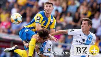 Eintrachts Robin Becker ist im Abstiegskampf gereift - Braunschweiger Zeitung