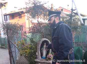 Ritrovata la statuina della Madonna rubata a Valle Mosso il 1° gennaio - La Provincia di Biella