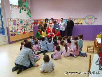 Valdilana: Babbo Natale e i suoi folletti nelle scuole di Valle Mosso e Trivero FOTO - newsbiella.it