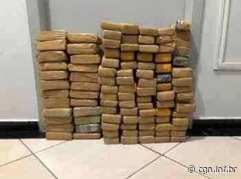 PRF de Santa Terezinha de Itaipu apreende 73,8 quilos de maconha - CGN