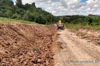 Arroio do Tigre realiza alargamentos de estradas - GAZ - Notícias de Santa Cruz do Sul e Região - GAZ