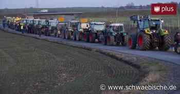 """""""Traktoren-Flashmob"""": Landwirte in Herbertingen geben Forderungen Nachdruck - Schwäbische"""