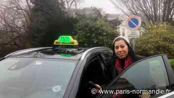 Portrait. À Bois-Guillaume, Fatiha Fadil découvre le métier de taxi - Paris-Normandie
