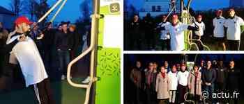 Ce parc de Bois-Guillaume inaugure ses deux modules sport de son parcours santé - Normandie Actu