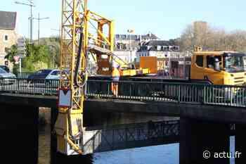 Lannion. Travaux sur le pont de Viarmes : gare aux bouchons - actu.fr