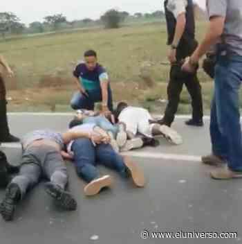 Seis detenidos por asalto a piladora en Lomas de Sargentillo; hay dos policías involucrados en el delito - El Universo