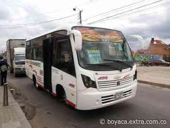 Inconformismo por alza de los pasajes entre Simijaca - Chiquinquirá y Ubaté - Bogotá - Extra Boyacá