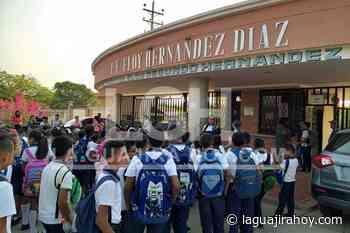 Roban equipos audiovisuales en IE Eloy Hernández de Papayal - La Guajira Hoy.com