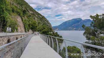 Limone, 500 mila accessi alla pista ciclabile sul Garda - QuiBrescia