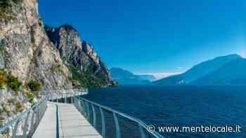 Ciclopedonale di Limone sul Garda: la pista a picco sul lago supera i 400 mila accessi in un anno - Brescia - mentelocale.it