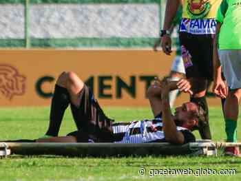 Lateral do ASA, Apodi lesiona joelho e pode desfalcar time na final da Copa AL - Gazetaweb.com