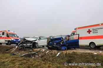 Unfall auf B22 bei Burgebrach: Wagen gerät auf Gegenspur - Autofahrer (75) schwer verletzt - inFranken.de