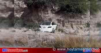 Conductor se lleva un susto tras accidente carretero en Tula - Hoy Tamaulipas