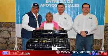 SEBIEN entrega compromisos a familias de Tula - Hoy Tamaulipas