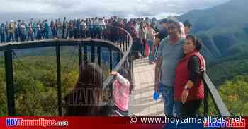 """Turistas abarrotan el Parque """"Camino Real a Tula"""" - Hoy Tamaulipas"""