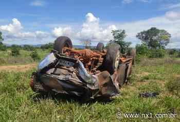 Toyota Hilux roubada em Canarana capota e polícia consegue prender suspeitos em Nova Xavantina - NX1