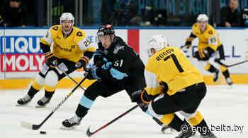 KHL: Dinamo Minsk 3-4 Severstal Cherepovets - Belarus News (BelTA)