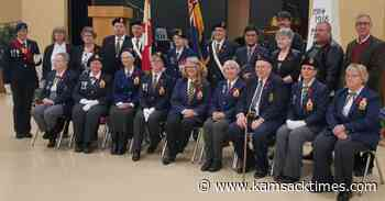 Norquay Remembrance Day Service held at Communiplex - Kamsack Times