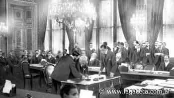 El Tratado de Versalles fue muy mal recibido por los perdedores - Actualidad | La Gaceta - La Gaceta