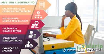 Assistente Administrativo - Salário 2020 - Senador Canedo, GO - salario.com.br