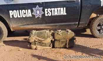 Aseguran PESP y Ejército 49 kilogramos de droga en Sonoyta - CanalSonora.com