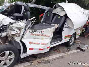 Varios muertos habría dejado accidente en vía Ciénaga de Oro – La Ye - LA RAZÓN.CO